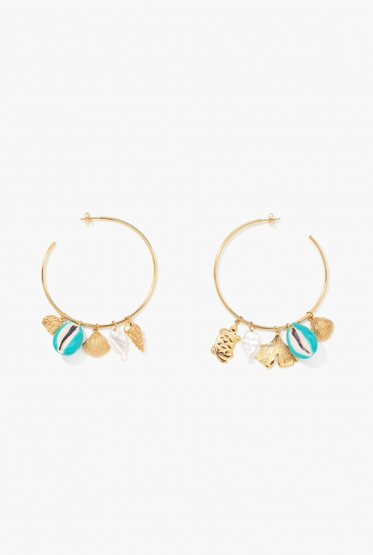 Aguas Merco turquoise earrings
