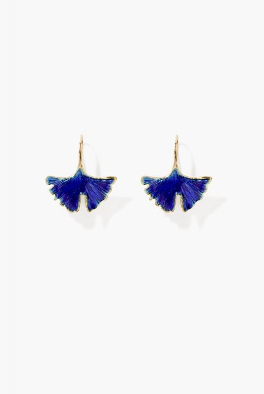 Cosmic blue Tangerine earrings