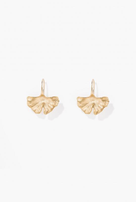 Ginkgo earrings