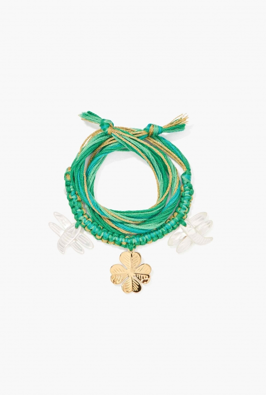 Bracelet Honolulu emerald