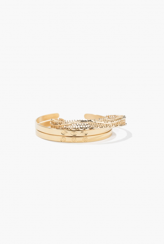 Dentelle and personalise bangles