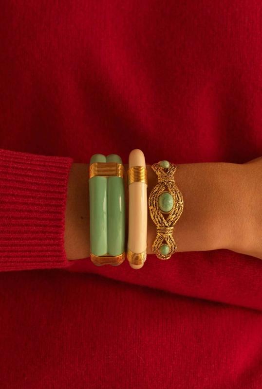 Katt and Mizuhiki Bracelets