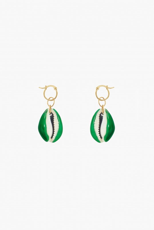 Green Merco earring