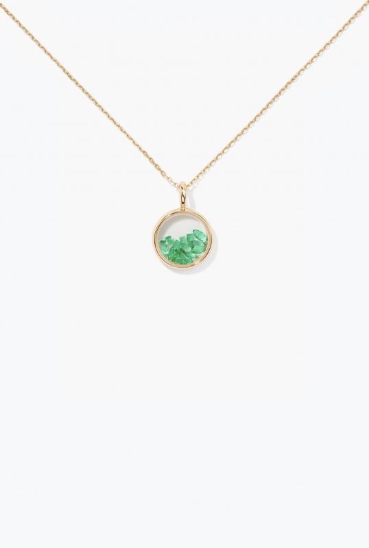Emerald Mini Chivor Pendant