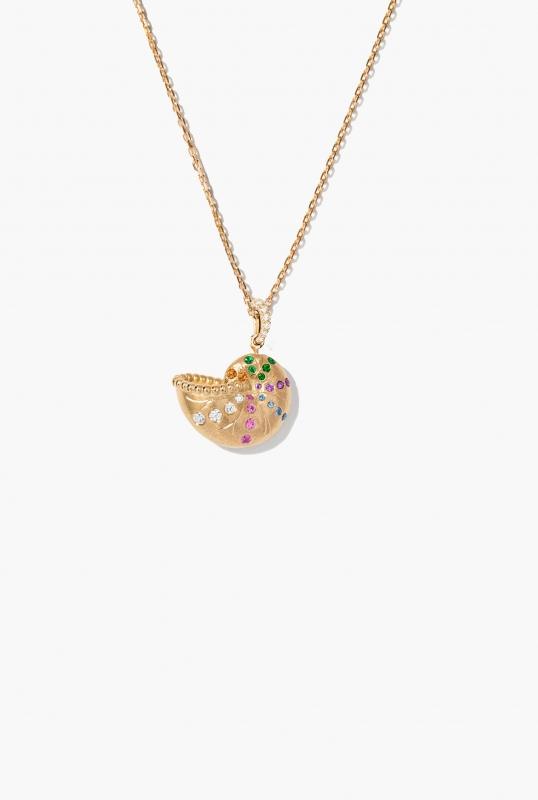 Mini Nautilus pendant