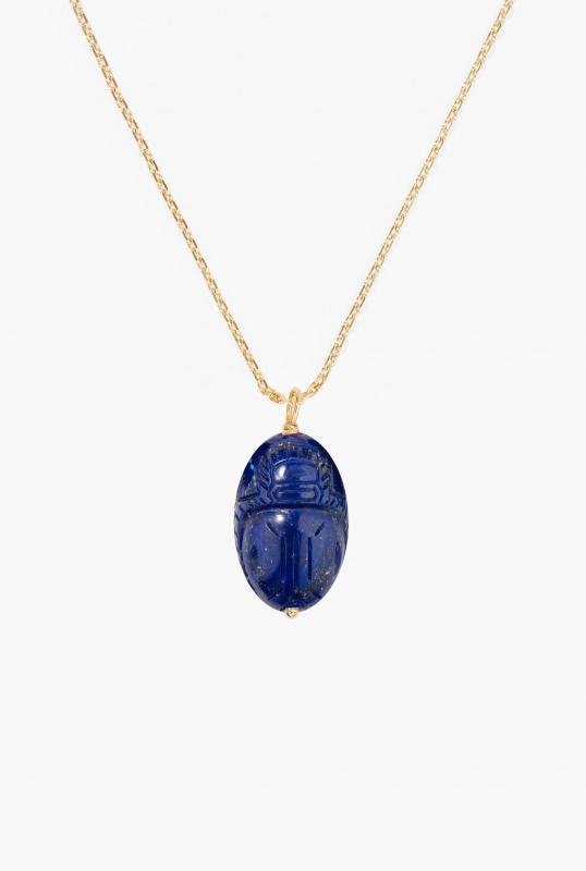 Large Lapis lazuli Scarab pendant