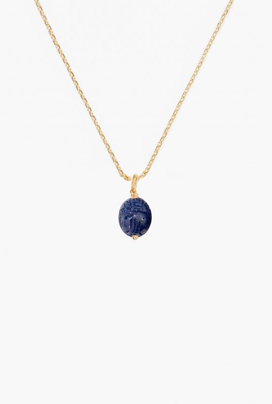 Small Lapis lazuli Scarab pendant