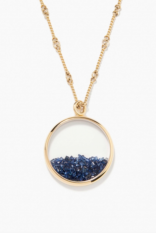 Blue Sapphires Chivor long necklace