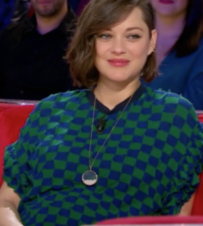 Marion Cotillard - Sautoir Chivor Perles