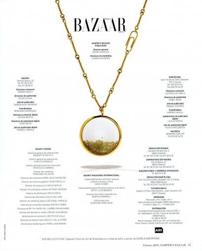 Sautoir Chivor Perles - Harper's Bazaar Espagne