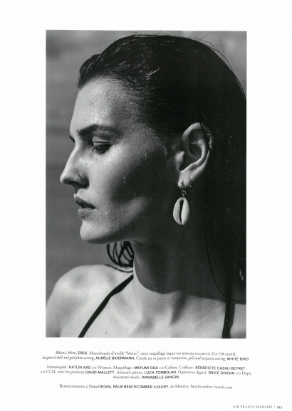 Boucles d'oreilles Merco - AIR FRANCE MADAME