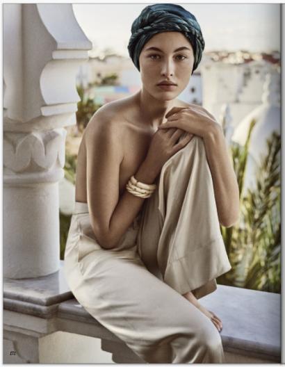 Bracelet Diana Torsadé Ivoire - Vogue Russie