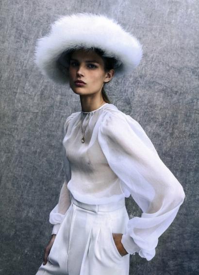 Collier Baby Chivor Diamants - Vogue Espagne Mariage