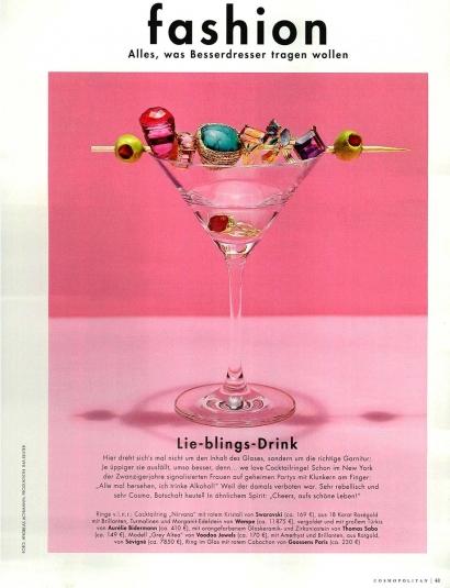 Turquoise Miki ring - COSMOPOLITAN GERMANY