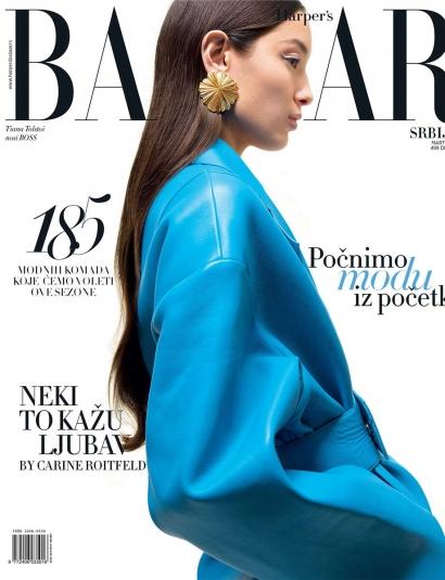 Natosi earrings - HARPER'S BAZAAR- Serbia