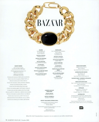 Bracelet Bronx - Harper's Bazaar Espagne