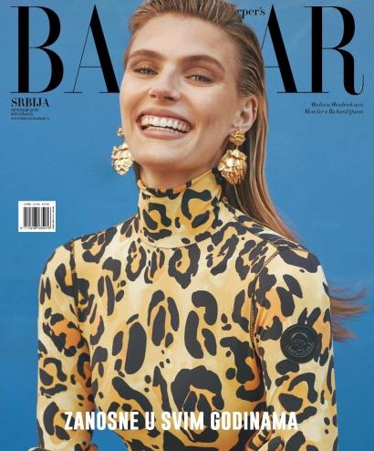 Boucles d'oreilles Giverny - Harper's Bazaar Serbie