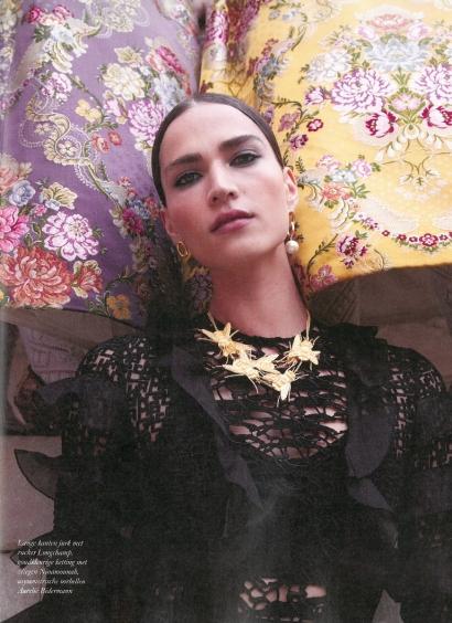 Boucles d'oreilles Manon asymétriques - Harper's Bazaar Pays-Bas
