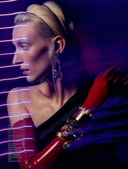 Ciotollo earrings - Elisabeth & Kumo Bracelet  - Vogue Japan