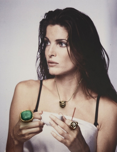 MALACHITE MIKI RING - Stephanie Seymour