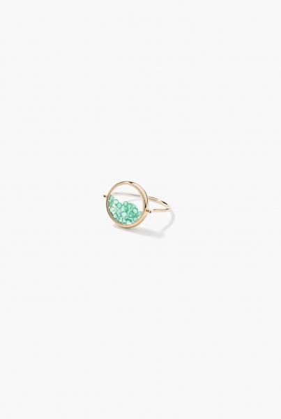 Emeralds Chivor ring