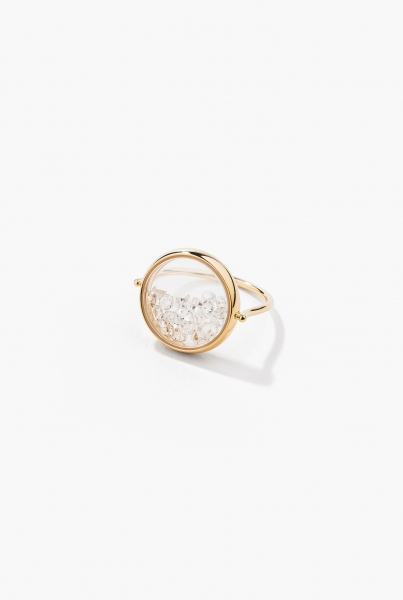 Diamonds Chivor ring