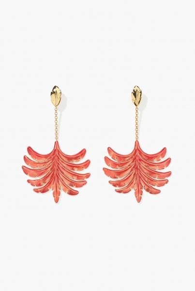 Riviera earrings Pivoine