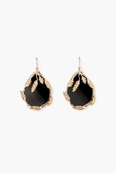 Onyx Françoise earrings