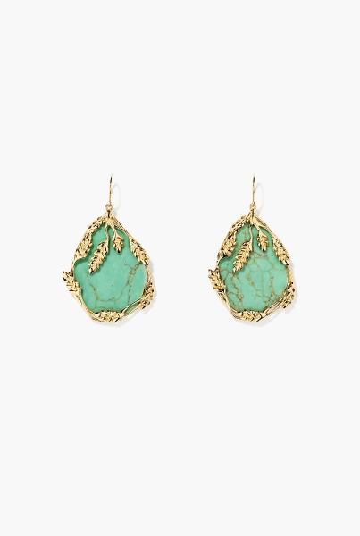 Turquoise Françoise earrings