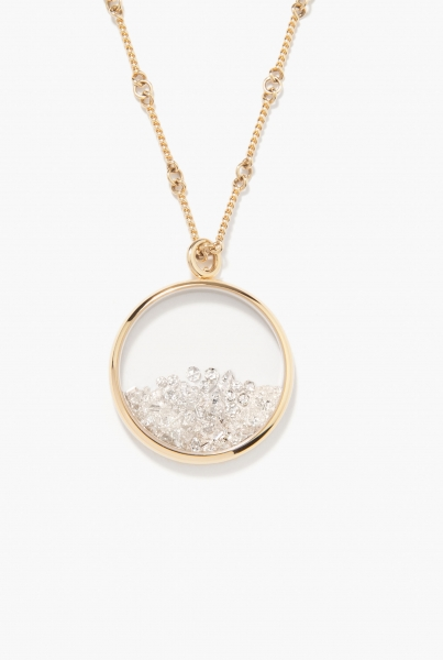 Diamonds Chivor long necklace