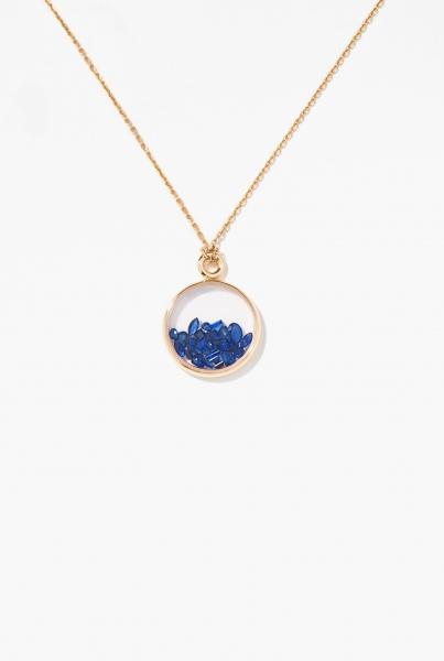 Blue Sapphires Baby Chivor pendant