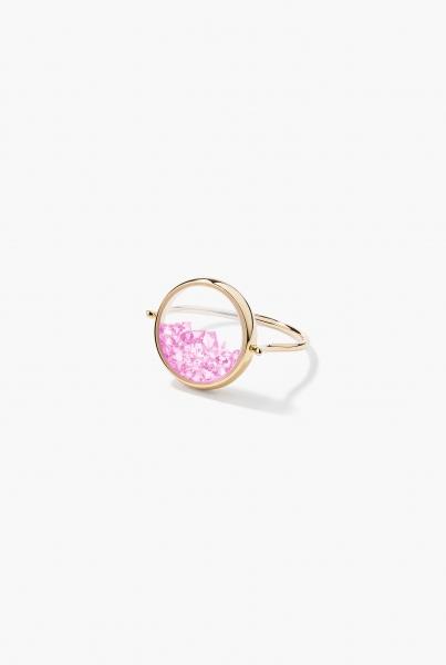 Pink Sapphires Chivor ring