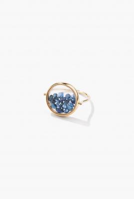 Blue Saphires Chivor ring