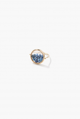 Blue Saphires Chivor ring