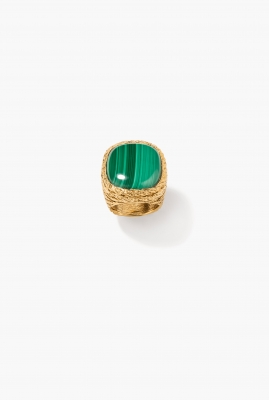 Malachite Miki ring