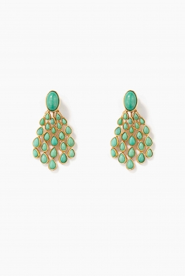 Turquoise Cherokee earrings