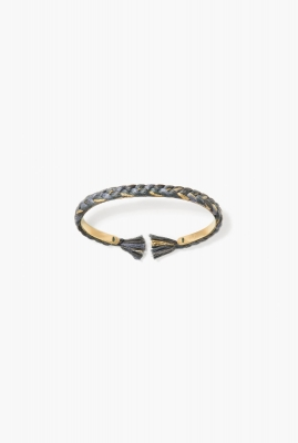 Grey Copacabana thin bangle