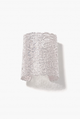 Silver Vintage Lace cuff