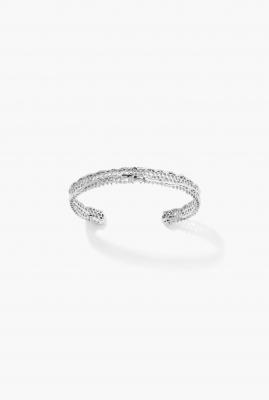 White gold Lace bracelet