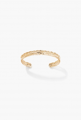 Yellow gold Lace bracelet