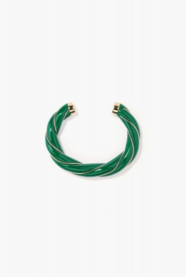 Emerald Diana bangle