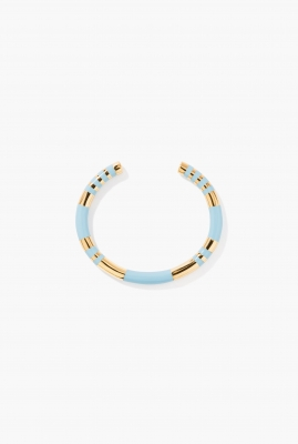 Baby blue Positano bangle