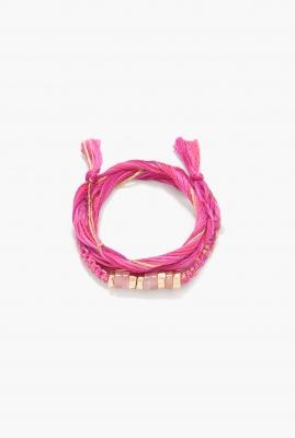 Quartz rose Takayama bracelet