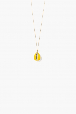 Merco necklace fluorescent yellow