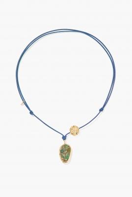 Blue Paraty necklace