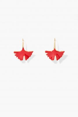 Vermilion Tangerine earrings