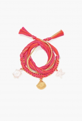 Honolulu peony pink Bracelet