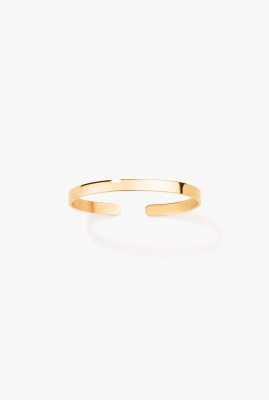 Vermeil engraved bangle