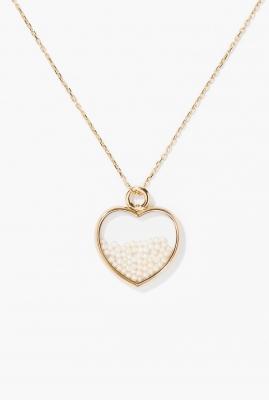 Freshwater pearl heart Chivor