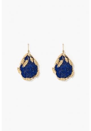 Lapis lazuli Françoise earrings